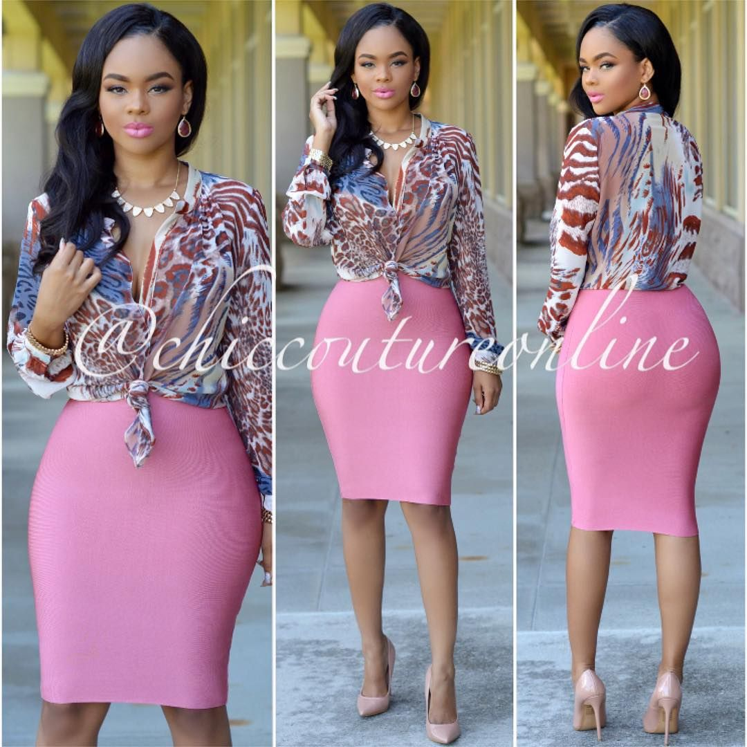 """This #OOTD is everything  www.ChicCoutureOnline.com Search: ""Bailey"" blouse ~ ""Lizeth"" skirt  #fashion #style #stylish #love #TagsForLikes.com #me #cute…"""