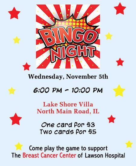 Great Ideas To Organize A Bingo Fundraiser  Organizing