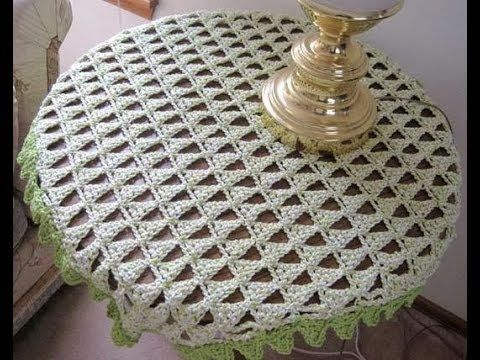 9) Tableclothes Models Great Lace Designs Crochet Knitting New ...