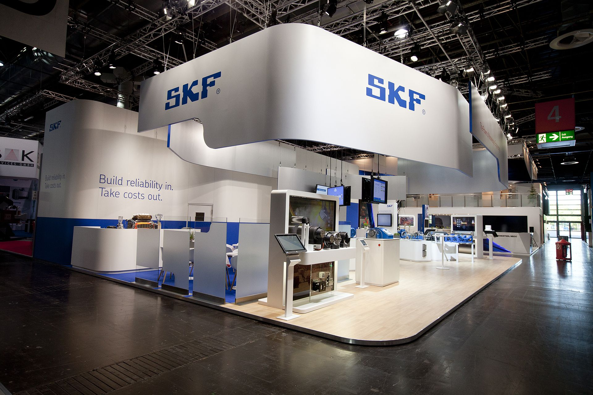 Exhibition Stand Design Presentation : Raumhoch skf metec rcan pinterest exhibition