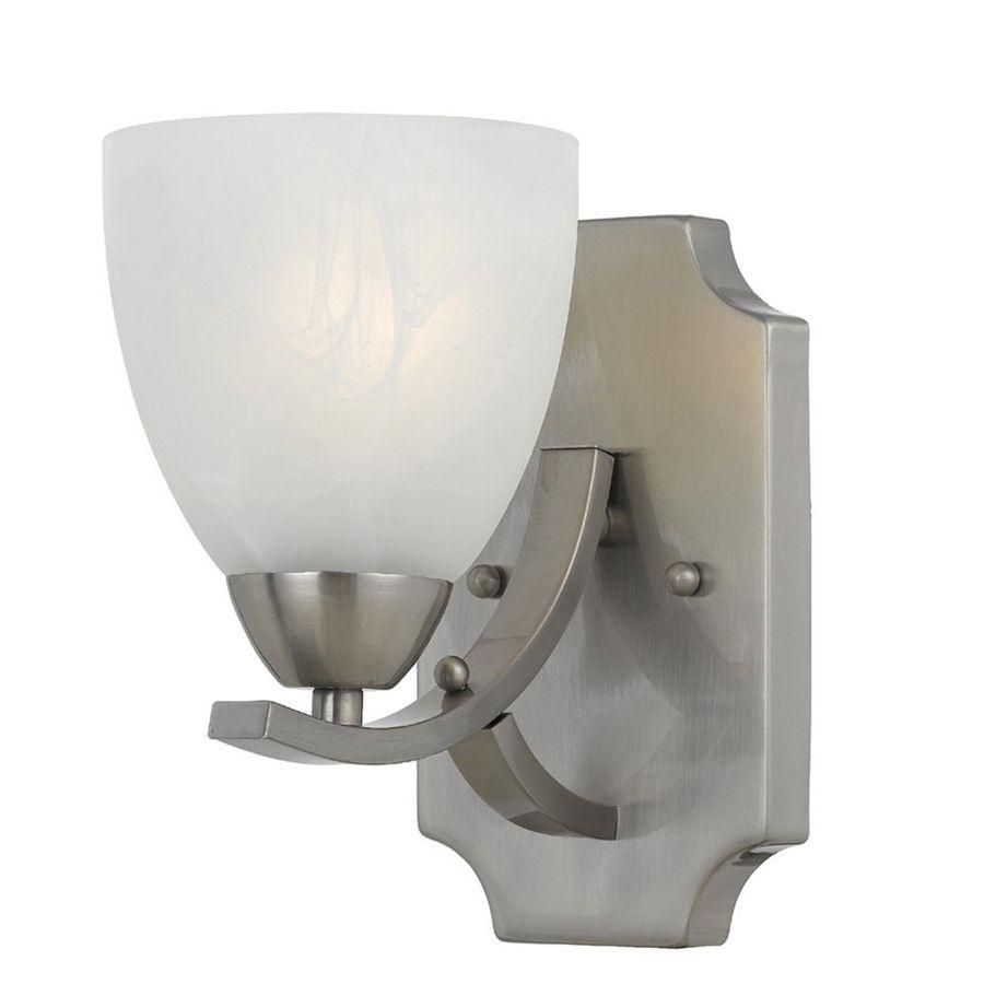 Werra 2 Light 14 In Satin Nickel Vanity Light At Lowes Com