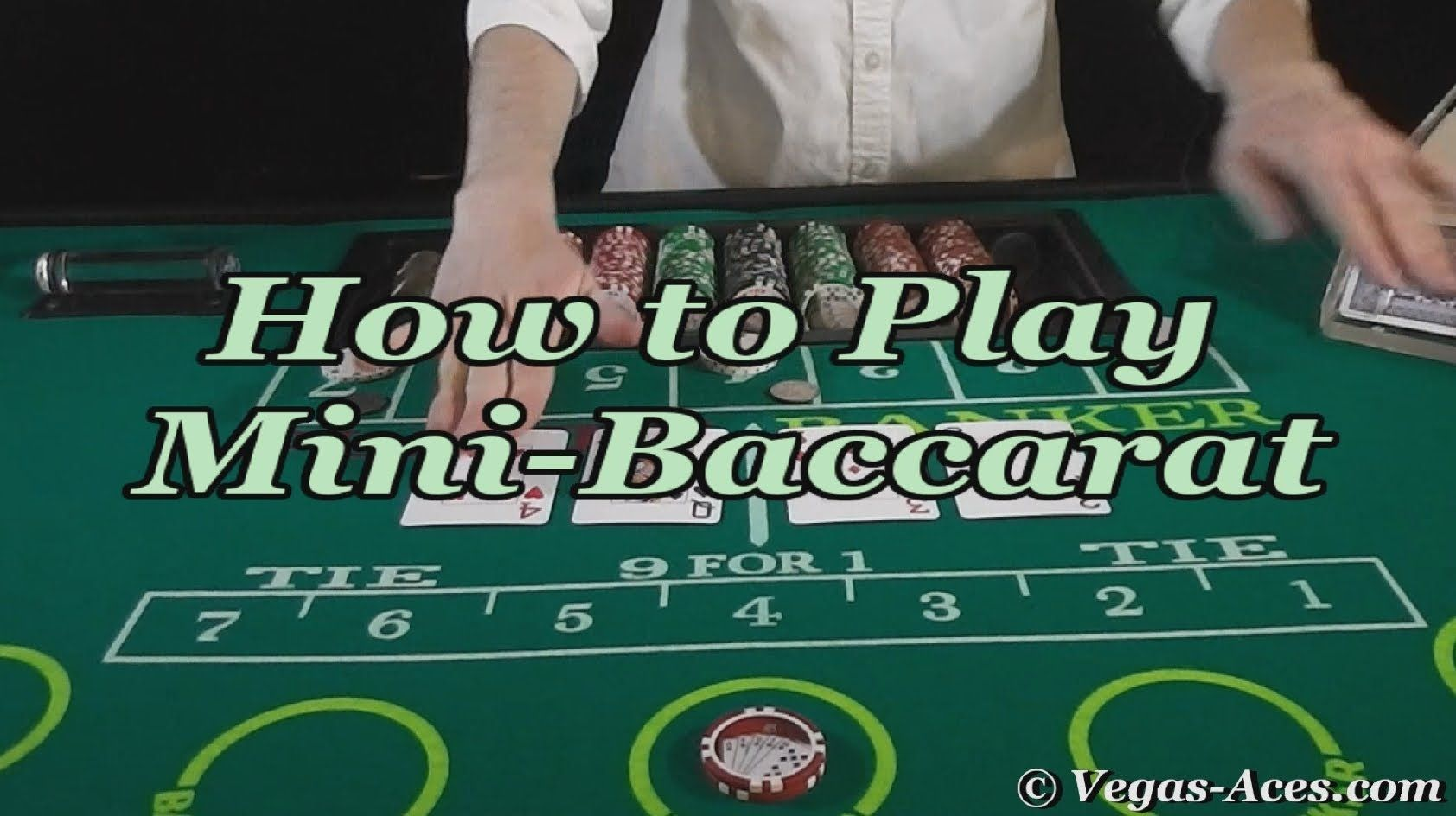 How to Play MiniBaccarat Baccarat, Mini