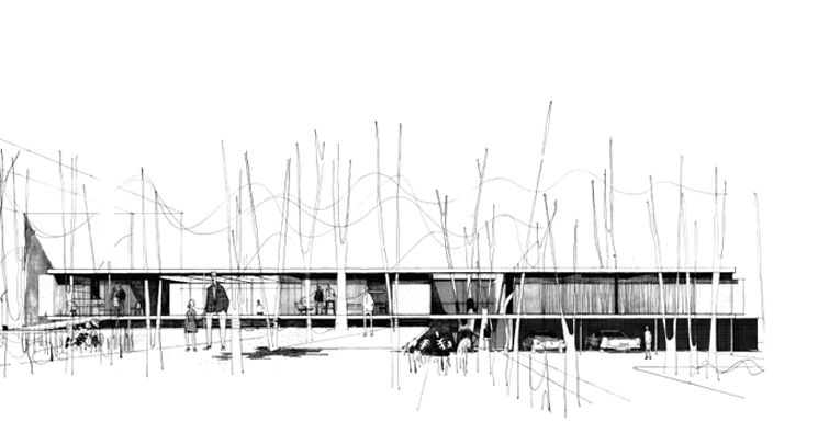 Los Dibujos Del Taller Croquis Arquitectura Bocetos Arquitectura Boceto Arquitectonico