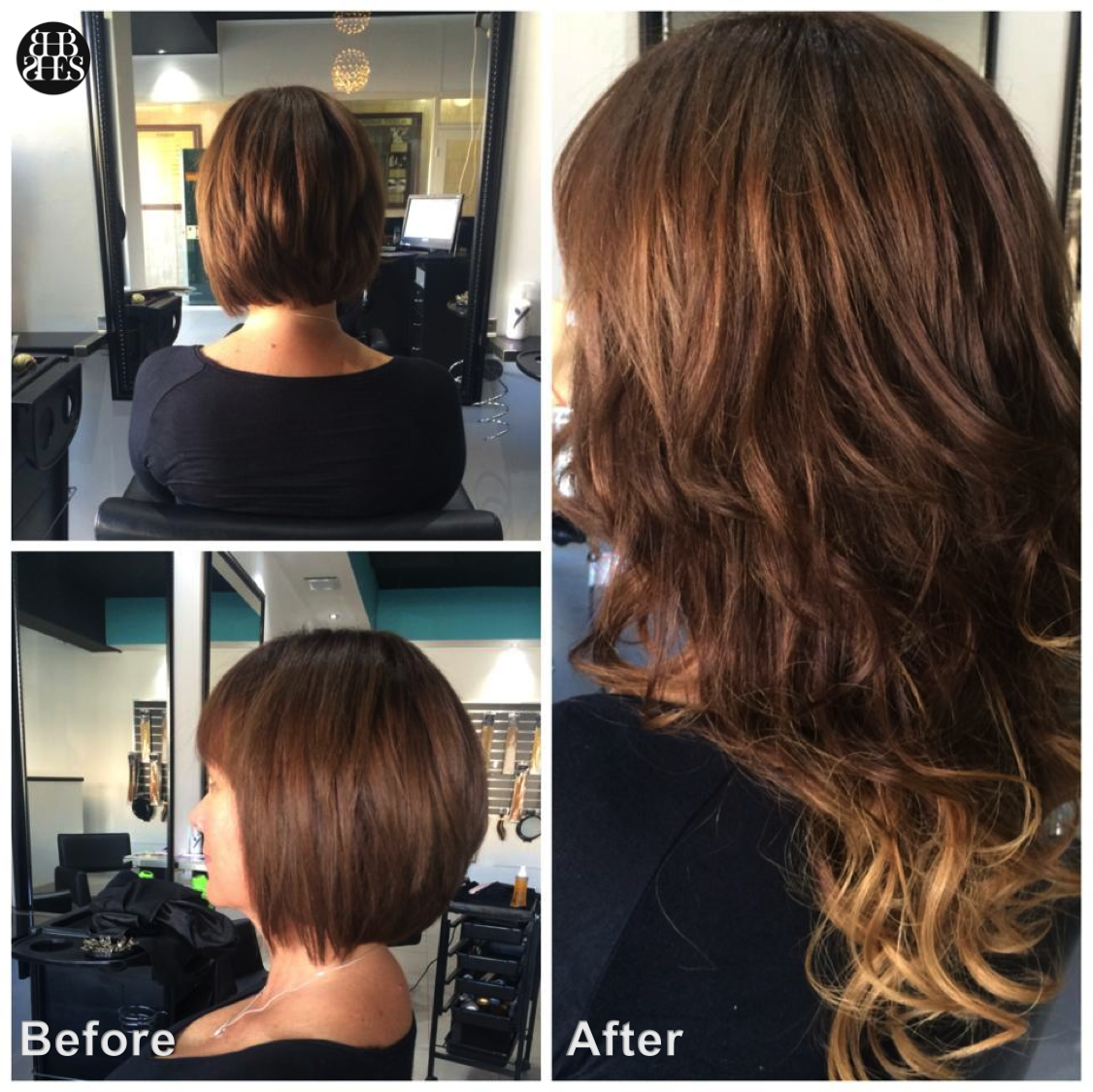 Before And After By Sydney Hair Extension Studio Hairextensions