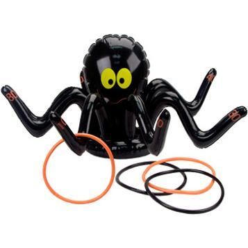 spider ring toss Kid\u0027s Halloween Party Pinterest Ring toss