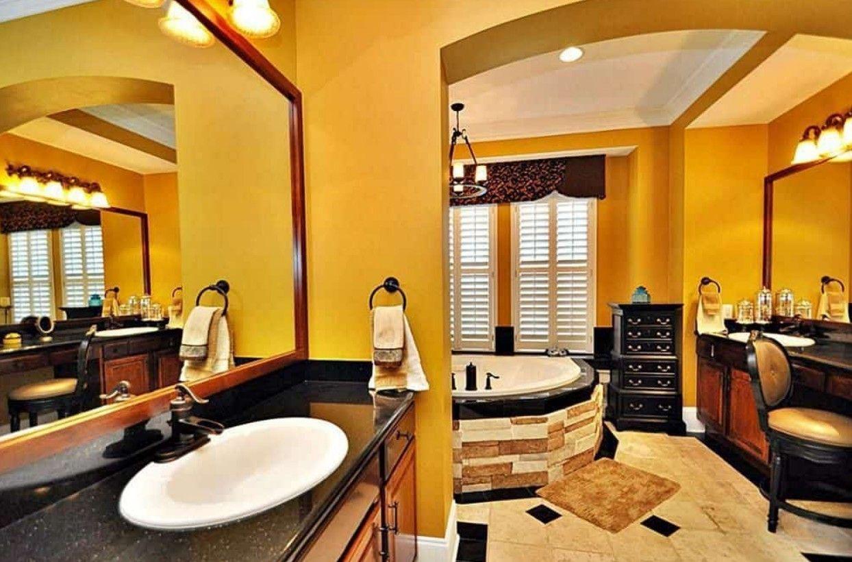 Pin On Bathrooms Download yellow bathroom decorating