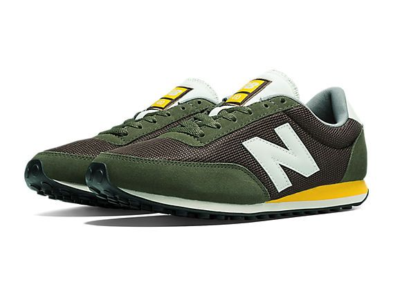 reputable site b1a9b ea111 ... greece new balance 410 olive with brown yellow ee836 31f78