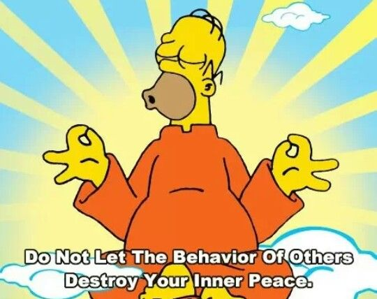 Hinduism - Meditation, Homer Simpson #India   Meditation Lovers ...