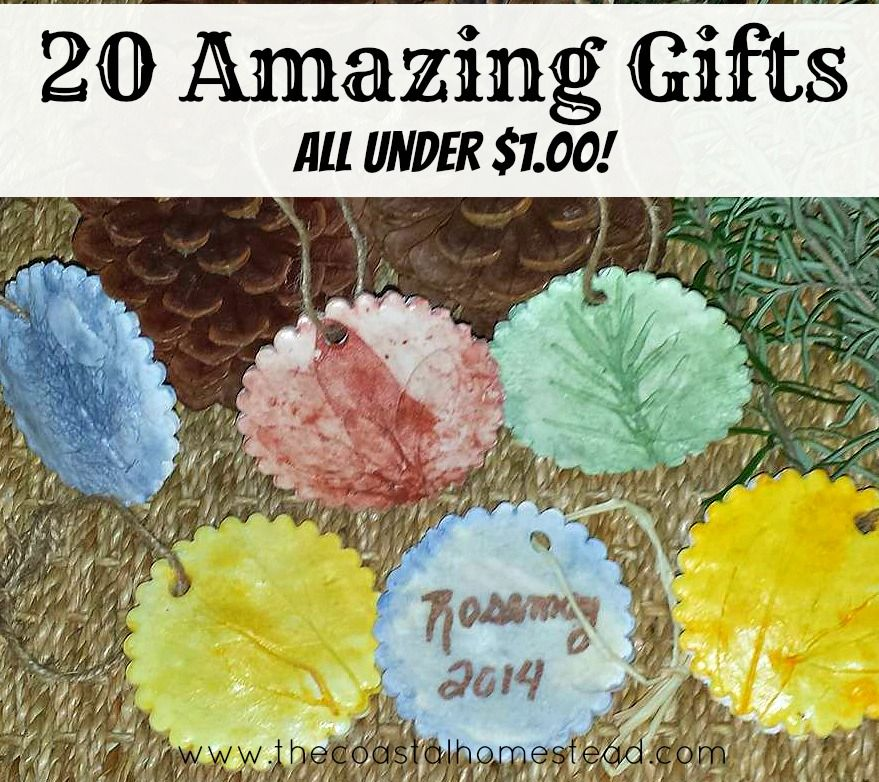 20 Amazing DIY gifts you can make for under $1.00
