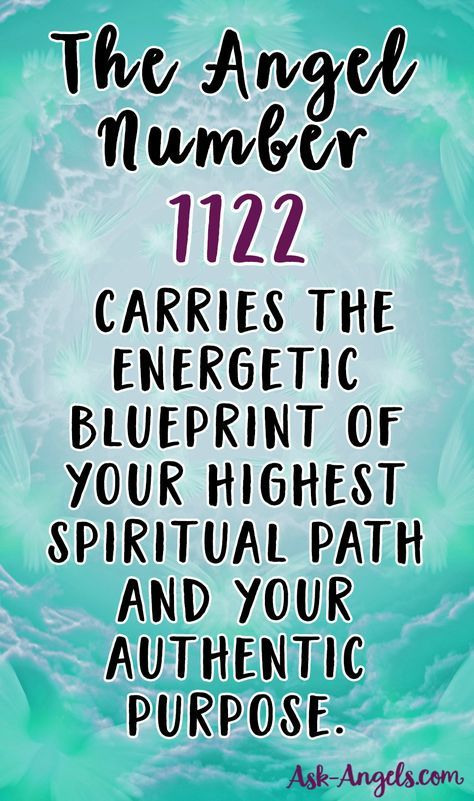 Angel Numbers 101 1122 or 2211 Doreen Virtue11-22 Numerology - new blueprint meaning meaning