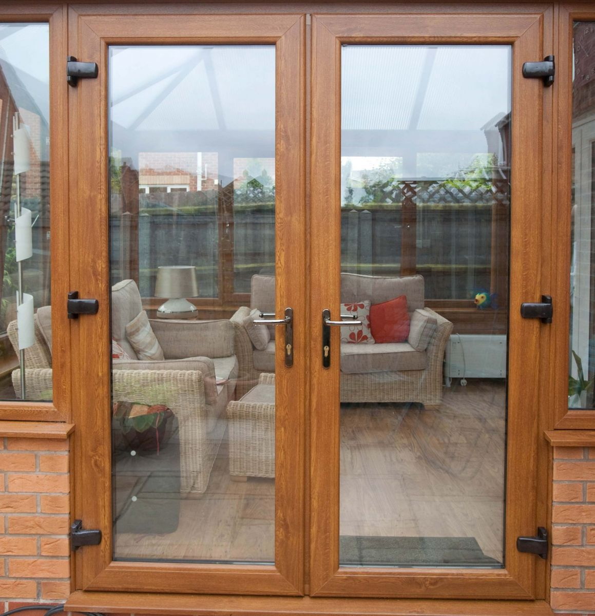 Upvc Oak French Doors Doncaster Jpg 1159 1200 French Doors Exterior Contemporary Patio Doors Upvc French Doors