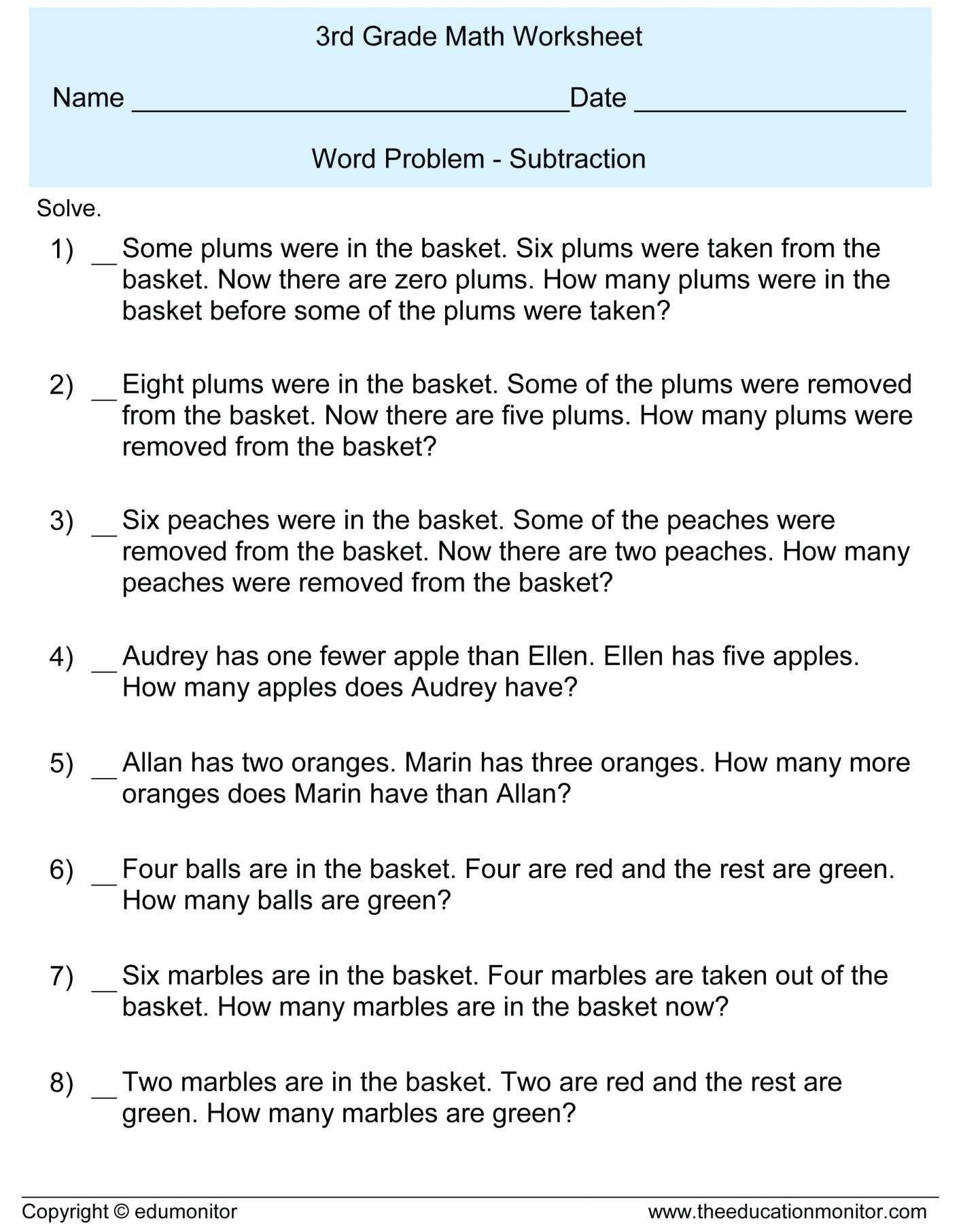 7 Astonishing Apple Math Worksheet 8th Grade