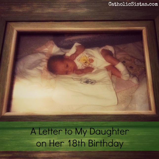 A Letter To My Daughter On Her 18th Birthday