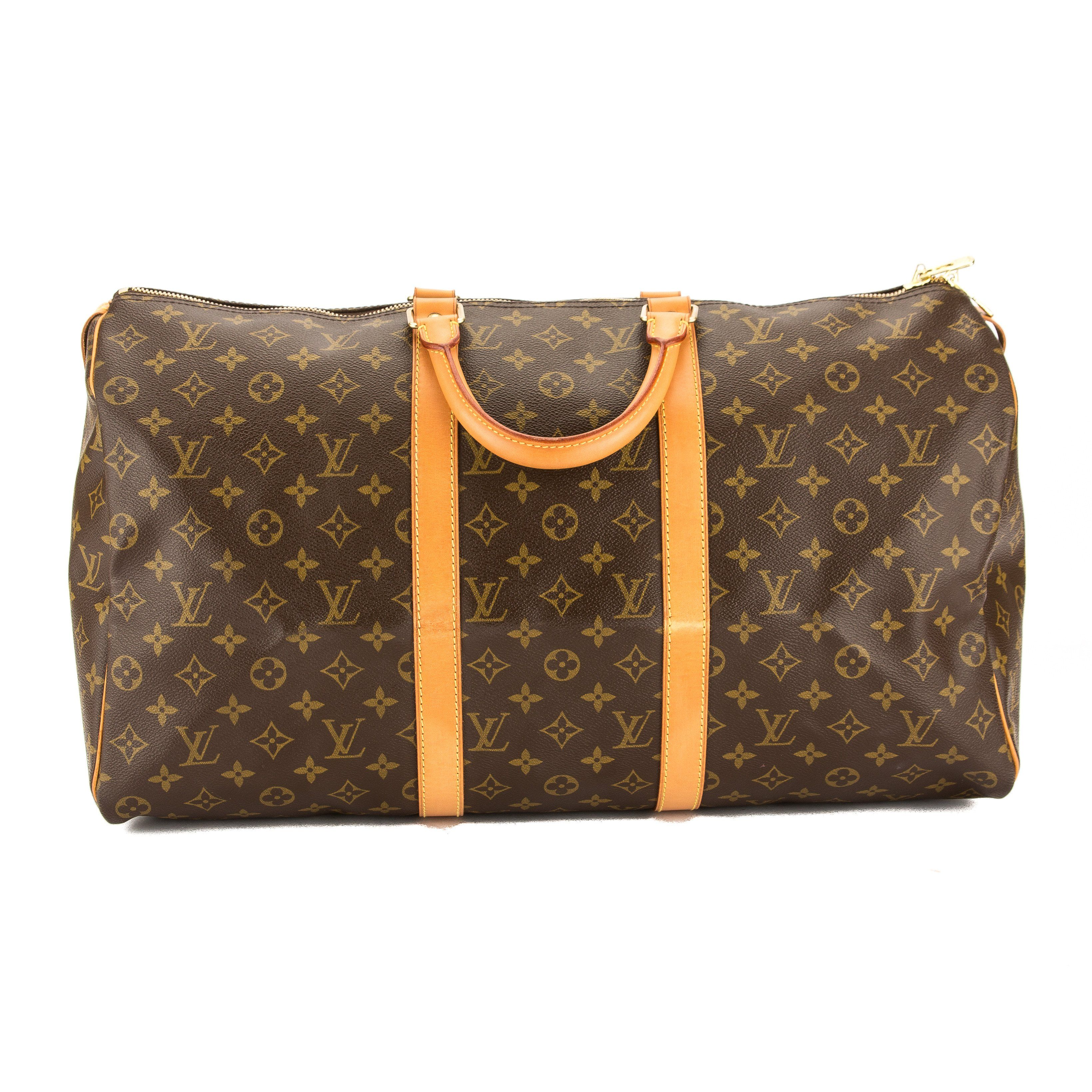 Louis Vuitton Monogram Canvas Keepall 50 Bag 3597007 Louis