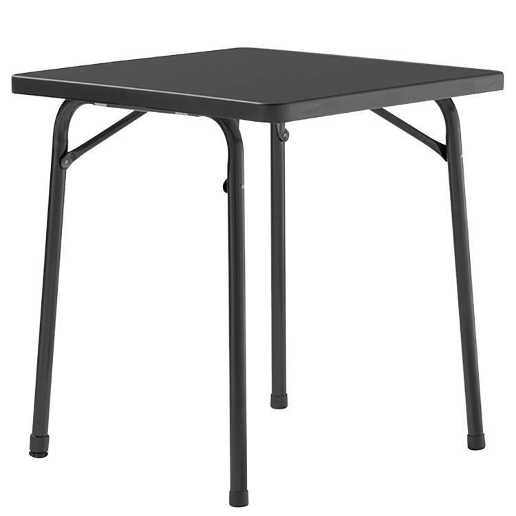 Gartentisch Mecalit IV - Kunststoff / Stahl - Anthrazit - 70 x 70 cm ...