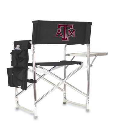 Take a look at this Texas A Sports Chair by Tailgate Essentials Collection on #zulily today!