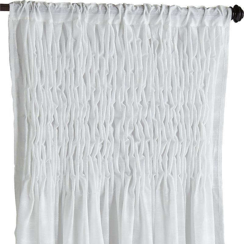 Magnolia Smocked Curtain Pier 1 Imports Curtains