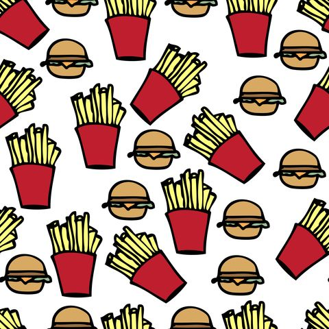 background tumblr mac   backgrounds - Burger, fries, Food ...