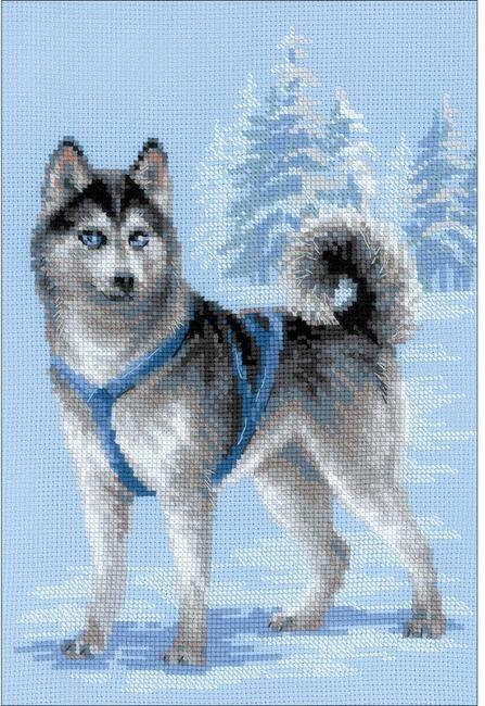 Bothy Threads Punto Croce Kit-Beagle