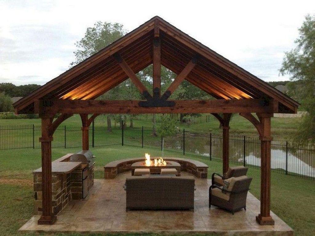 46 Amazing Gazebo Design Ideas For Your Backyard Backyard Gazebo