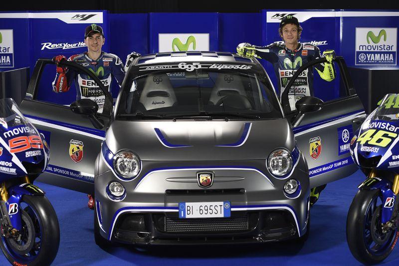 Abarth omaggio a Valentino Rossi e all'Italia dei motori 1