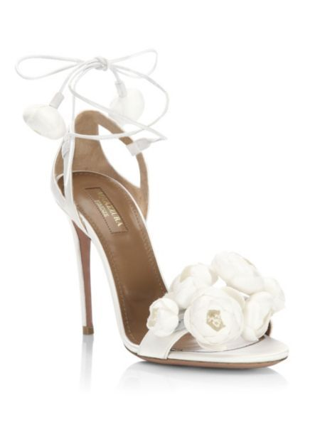 beauty factory outlets new appearance Aquazzura - Wildflower Bridal Sandals in 2019 | Bridal ...