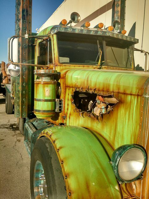 I Stopped By The Vegas Rat Rod Shop When I Was In Lv The Other Week Rat Rod Rat Rods Truck Big Trucks