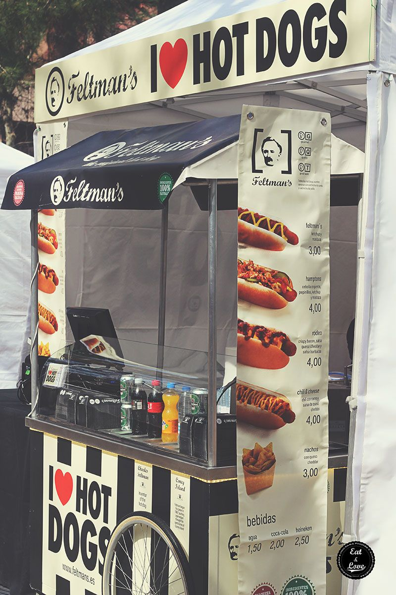 Feltmans hot dogs Street Food Madrid
