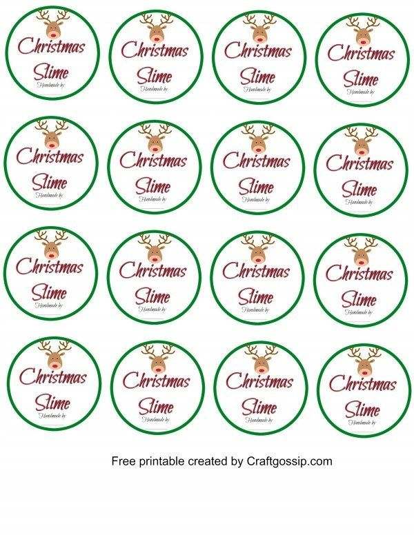 Free Printable Slime Labels is part of Diy christmas slime, Labels printables free, Cool slime recipes, Gingerbread diy, Gingerbread scent, Diy slime recipe - These Free Printable labels are for slime containers or mason jars  These labels are perfect for adding to your Party favor slime or for gifting slime to friends and family  Just download the image…