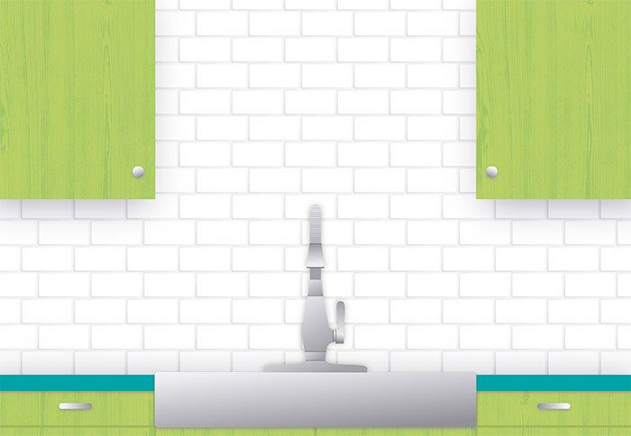 Subway Tile Pattern Guide Offset 1 3 Tile Design