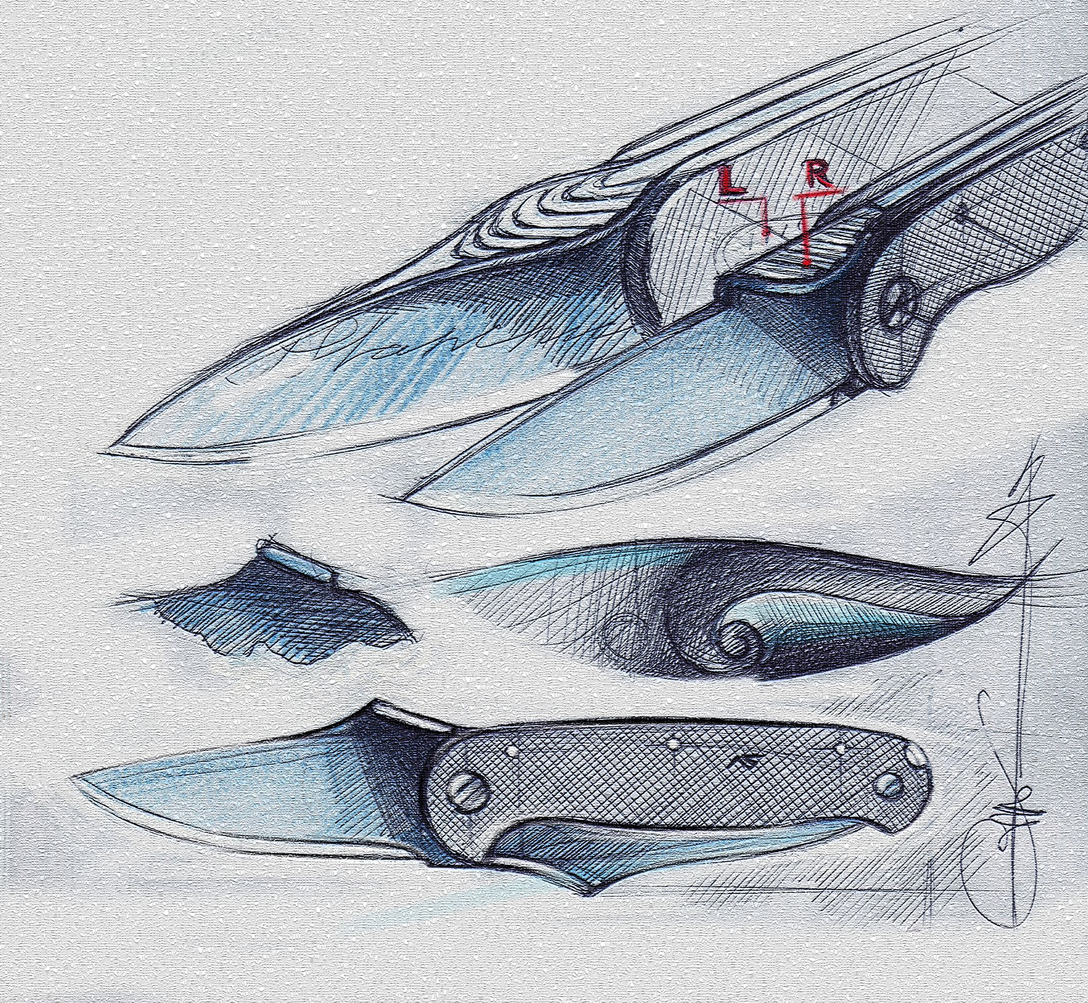 knife drawing designs - HD 2126×1960