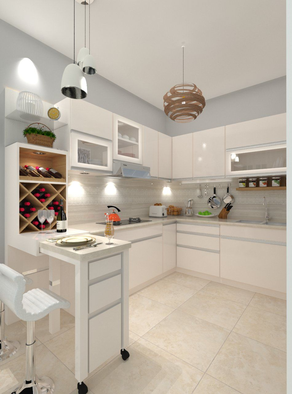 Jual Monte Vista Royal Kitchen Set Royal Kontraktor Apartemen