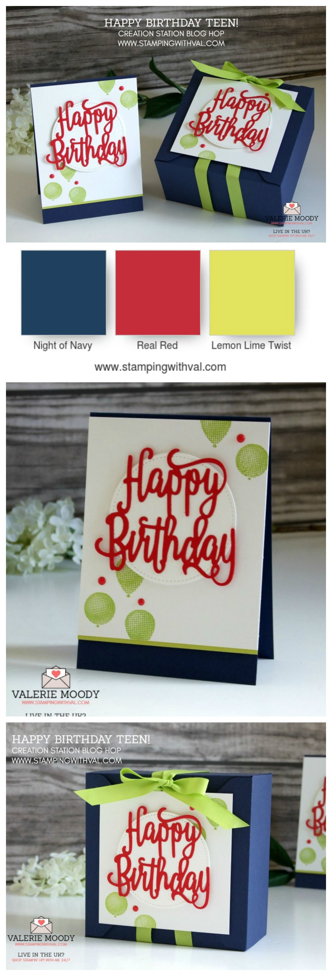 Happy Birthday Card Perfect For Tweens And Teens Zesty Colours