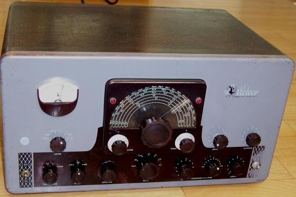 Johnson Valiant, ham radio transmitter  Used for AM and