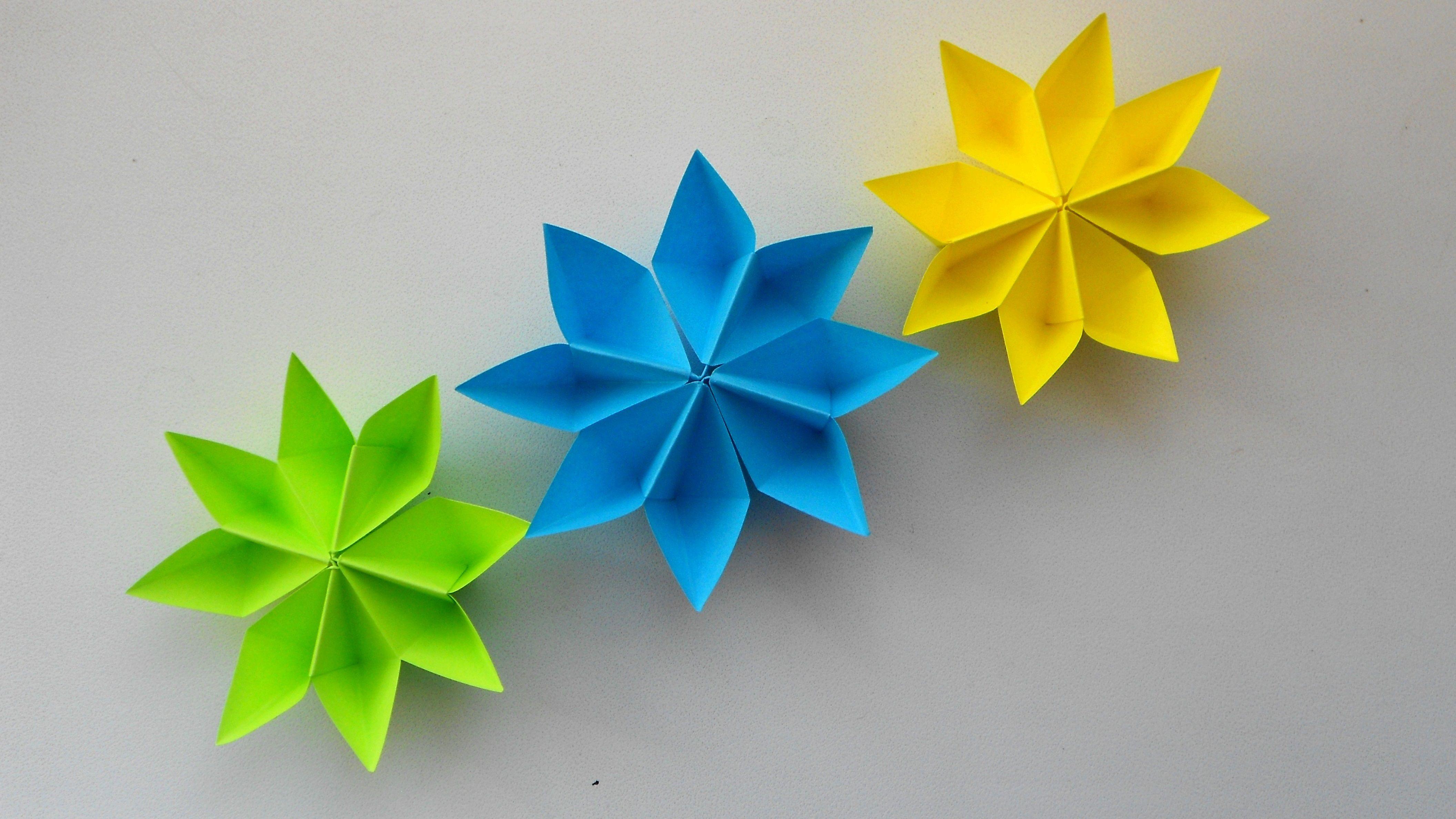 Поделки цветки своими руками из бумаги фото 453
