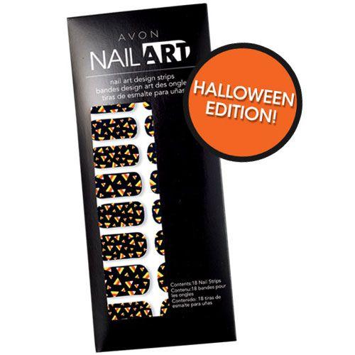 Nail Art Design Strips | AVON | Nail art designs, Nail ...