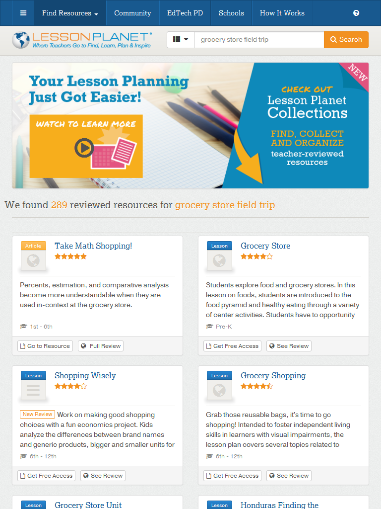 Print Teacher-Reviewed Worksheets and Lesson Plans about GROCERY ...