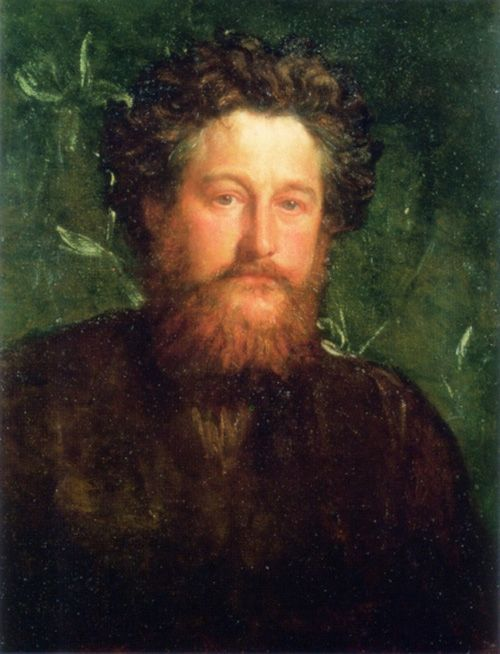 William Morris Self Portrait In 2019 William Morris