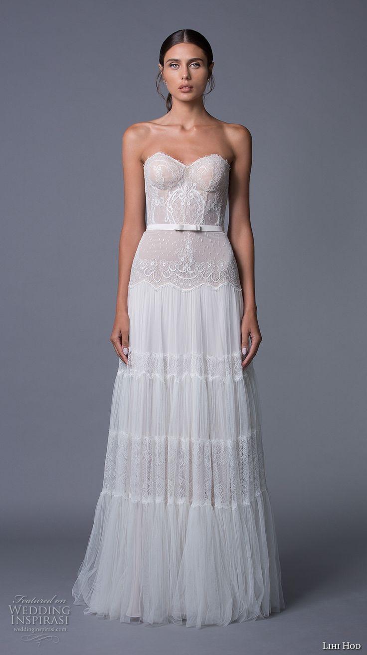 2018 Bustier Wedding Dress - Dressy Dresses for Weddings Check more ...