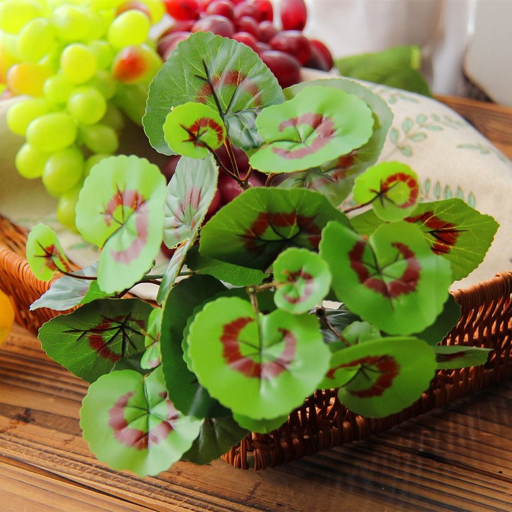 Artificial Plastic Fern Green Grass Artificial Plants For Household