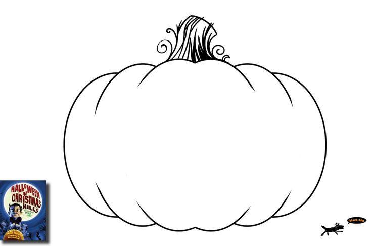pumpkin outline - Google Search | Pumpkin coloring pages ...