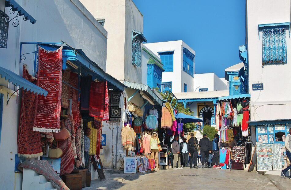 Sidi Bou Said En Túnez Túnez Turismo Viajes