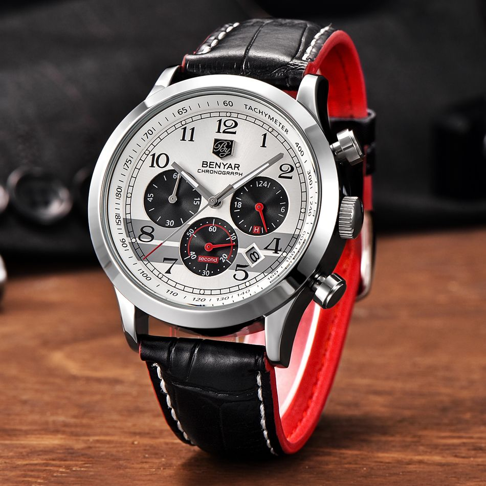 >> Click to Buy << BENYAR Reloj Hombre Luxury Chronograph Quartz Watch Men Sport Wristwatch Male Top Military Army Wrist Watches Relogio Masculino #Affiliate