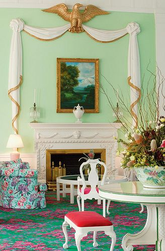 Dorothy Draper Interiors Learn Interior Design at The Greenbriers