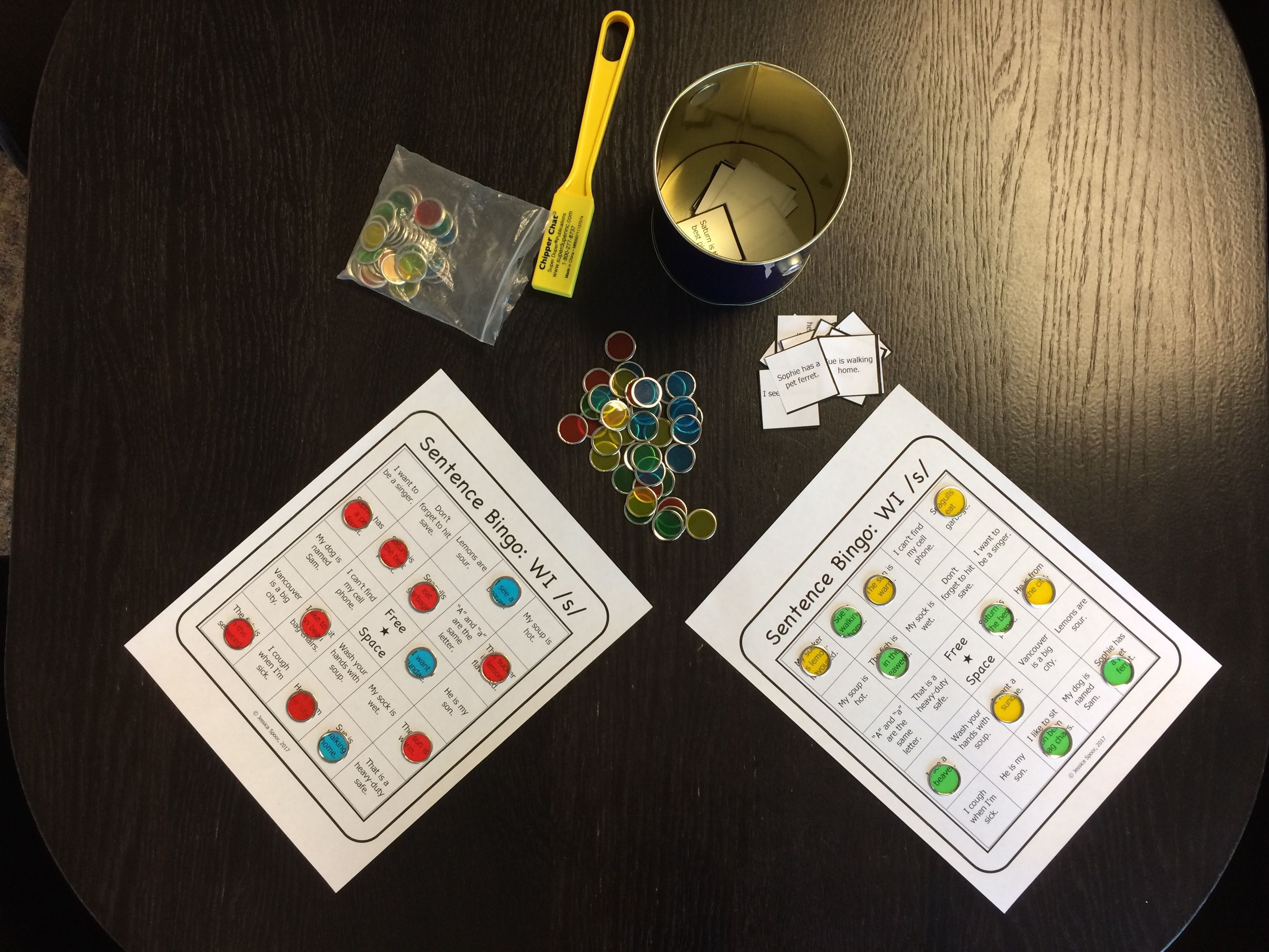 Articulation Bingo Bundle For Later Developing Speech