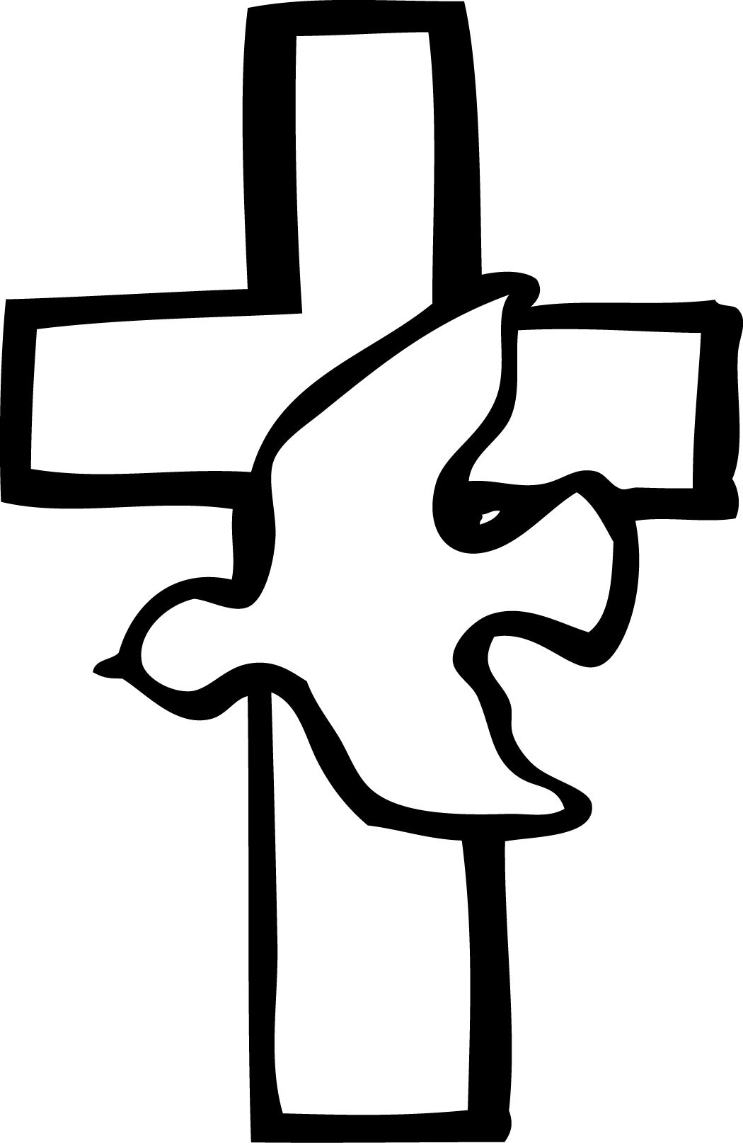 catholic cross baptism clip art clipart panda free clipart images [ 1050 x 1614 Pixel ]
