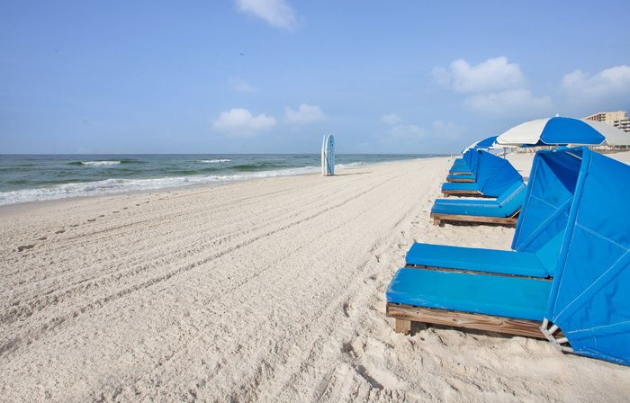 Beachfront Hotel Located Directly On The White Sand In Orange Beach Gulf Shores Alabama Orange Beach Hotels Alabama Beaches Beachfront Hotels