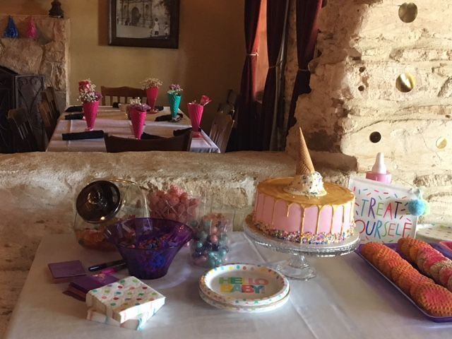 Ice Cream themed Baby Shower Two Step Restaurant and ...