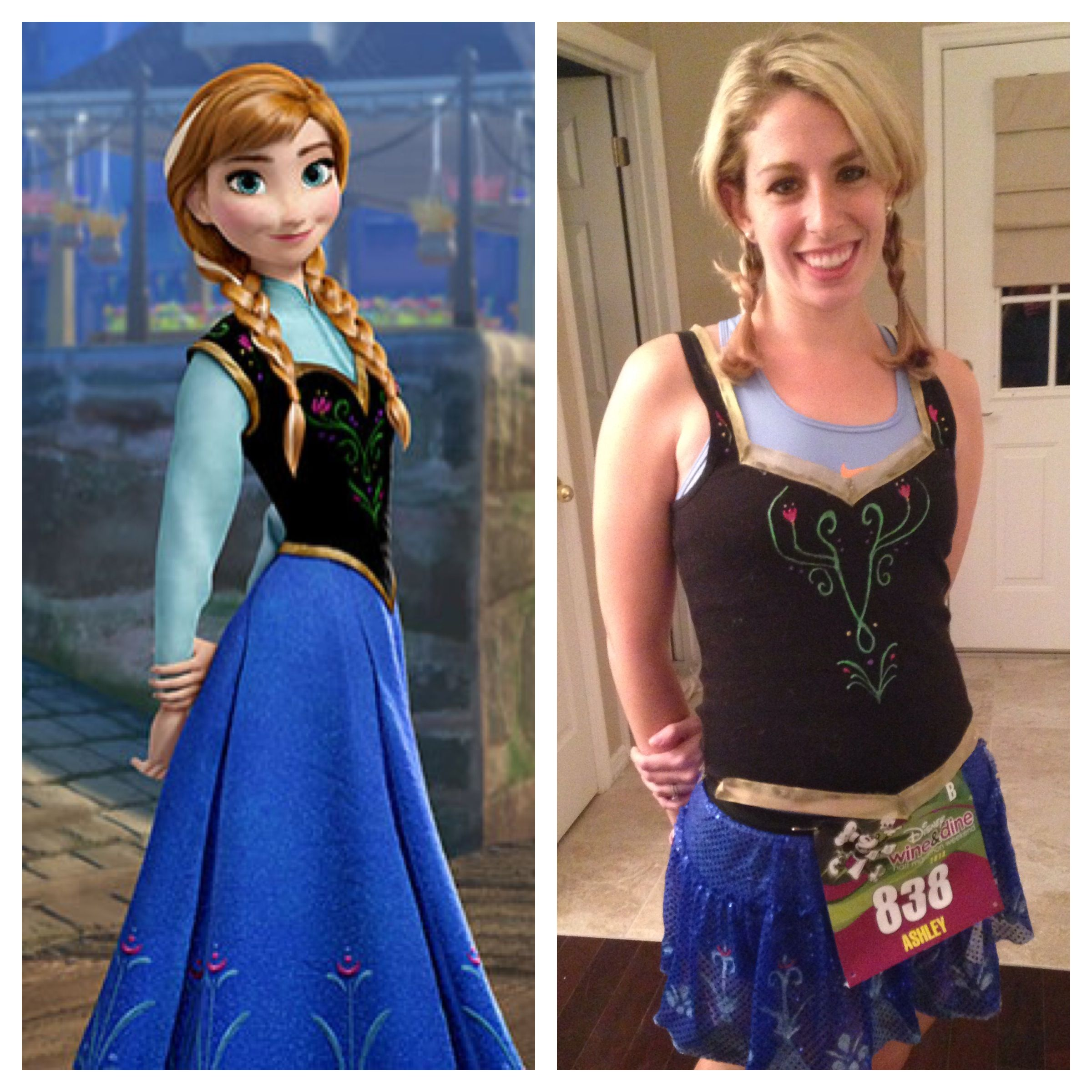 HOW TO: Creating My Anna from Frozen Costume