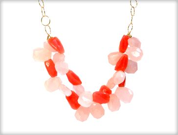 Coral Necklace. $75.00